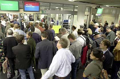 Flughafen Frankfurt: Der 11. September wirkt nach