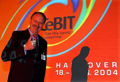 Zufrieden mit den Besucherzahlen: Cebit-Chef Ernst Raue
