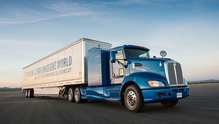 Emissionsfreier Schwer-Lkw von Toyota: Dieser dicke Brummer kurvt bald abgasfrei durch L.A.s Häfen