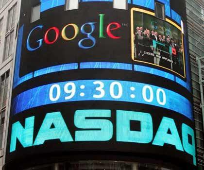 Erfolgreicher Abschluss:Der Börsengang von Google im August 2004 war einer der größten IPOs der vergangenen Jahre