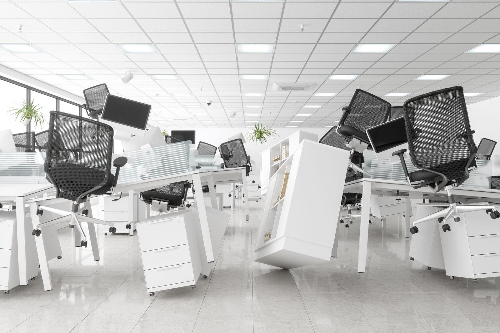 Zero Gravity Open Space Office