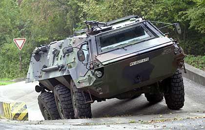 Spürpanzer Fuchs: Das Spezialfahrzeug von Rheinmetall ist seit dem 11. September auf der ganzen Welt begehrt