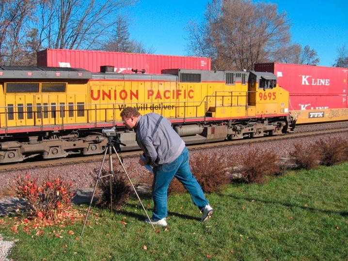 Union-Pacific-Zug: Es gibt sie noch, die Firmen, die im Eisenbahngeschäft sind - und damit auch im Transportgeschäft