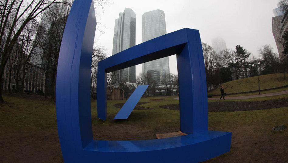 Im Zwielicht: Die USA werfen der Deutschen Bank Betrug vor