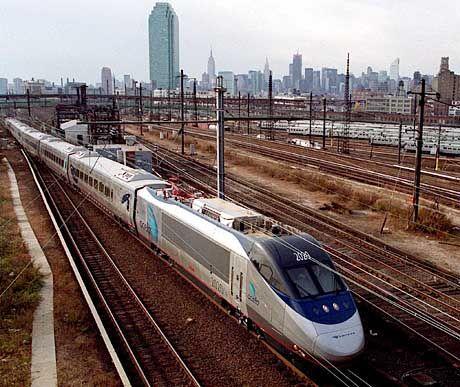 Hochgeschwindigkeitszug: Top-Speed auf einer Strecke von nur 30 Kilometern