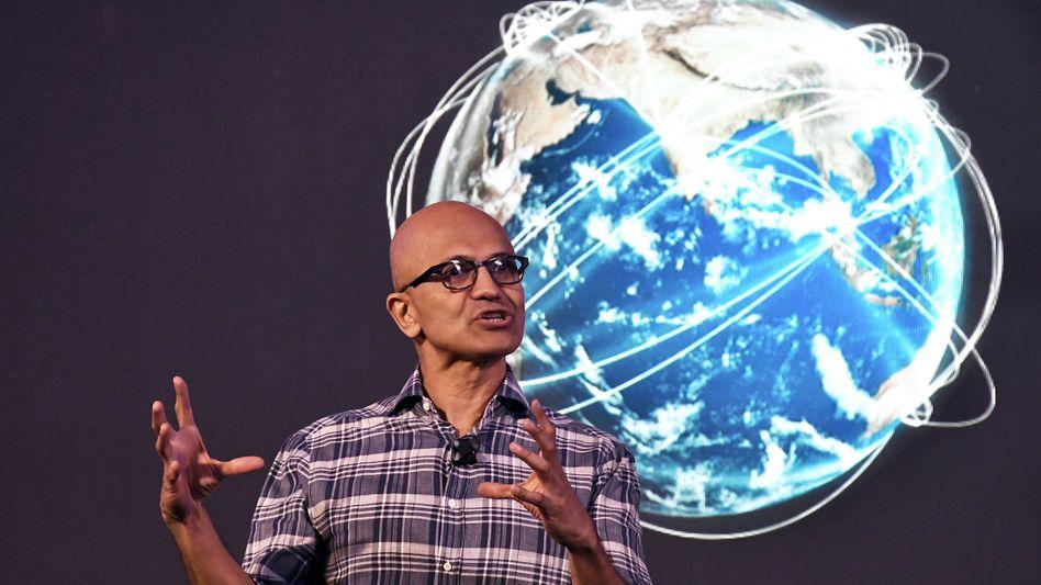 """""""Die digitale Leistungsfähigkeit ist die neue Währung"""": Microsoft-Chef Satya Nadella"""