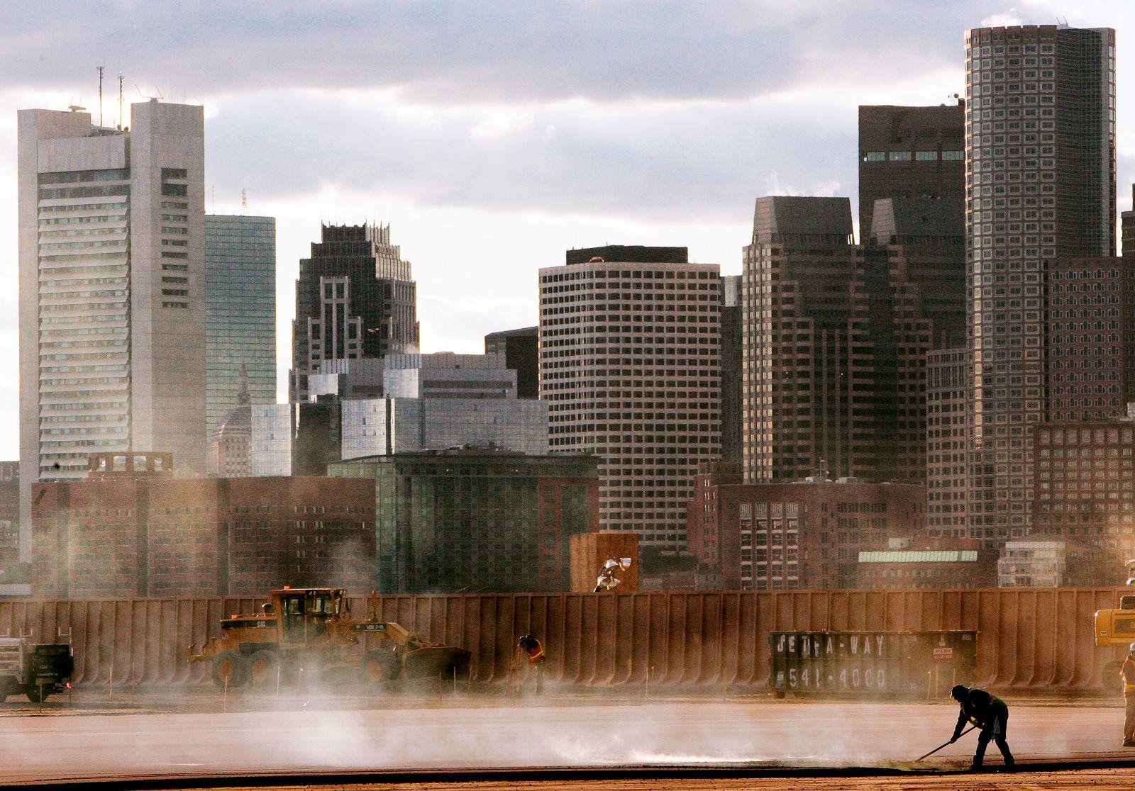 USA / Boston skyline / Immobilien