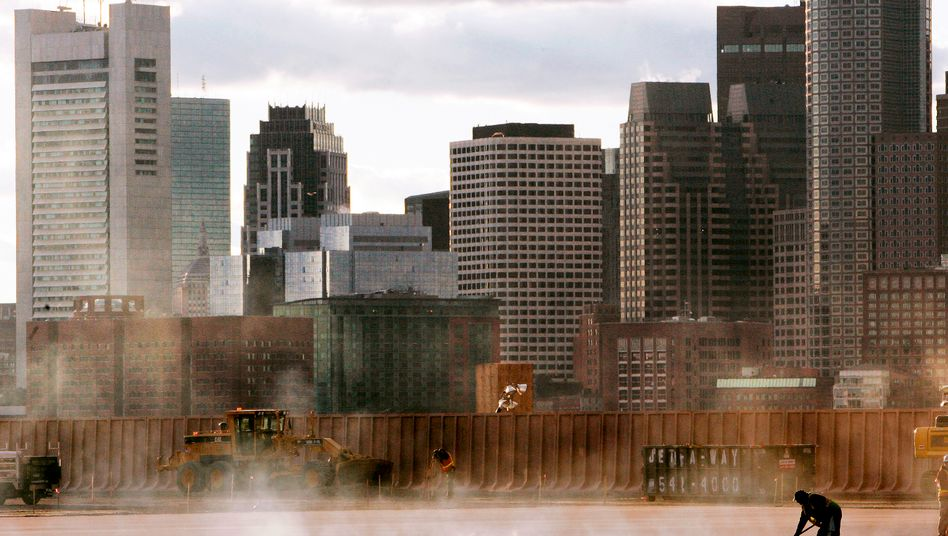 Gewerbeimmobilien in Boston: Rekordniedrige Zinsen lösen in den USA riskante Investitonen aus
