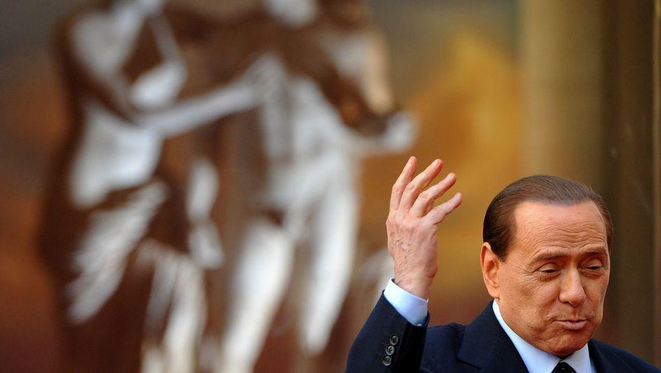 """Ministerpräsident Berlusconi: """"Die Entscheidung ist erwartet worden"""""""