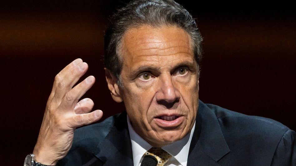 Weist die Vorwürfe bis heute zurück: New Yorks Gouverneur Andrew Cuomo