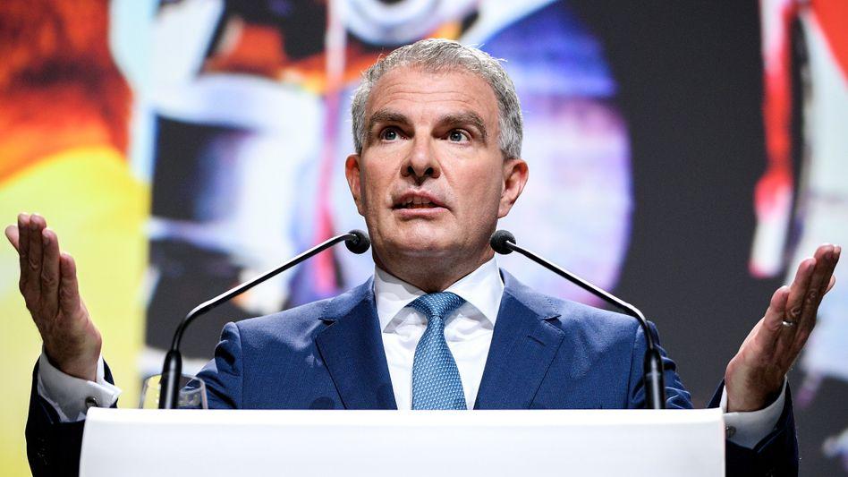 """Lufthansa-Chef Carsten Spohr (Mai 2019): """"Der Fehlbetrag wird sich im vierten Quartal noch deutlich erhöhen"""""""