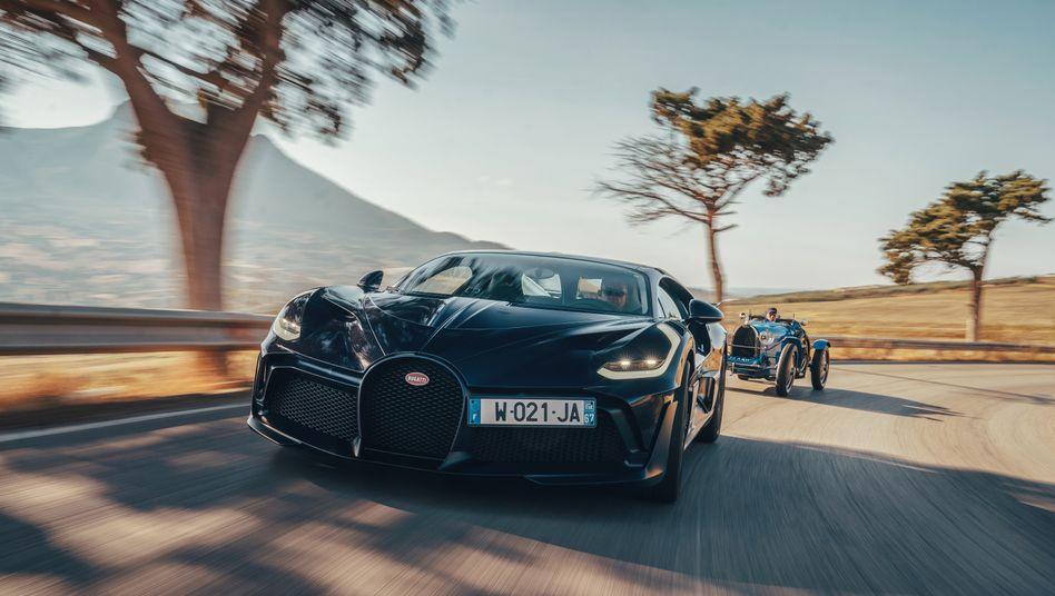 Bugatti Divo: Streng limitierter Supersportwagen für fünfMillionen Euro netto