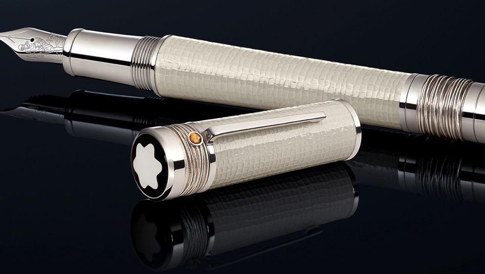 """Montblanc-Füller """"Mahatma Gandhi"""": Der Luxuswarenhersteller Montblanc hat noch keinen Frieden mit der Insolvenzverwalterin der ehemaligen Unternehmenstochter"""