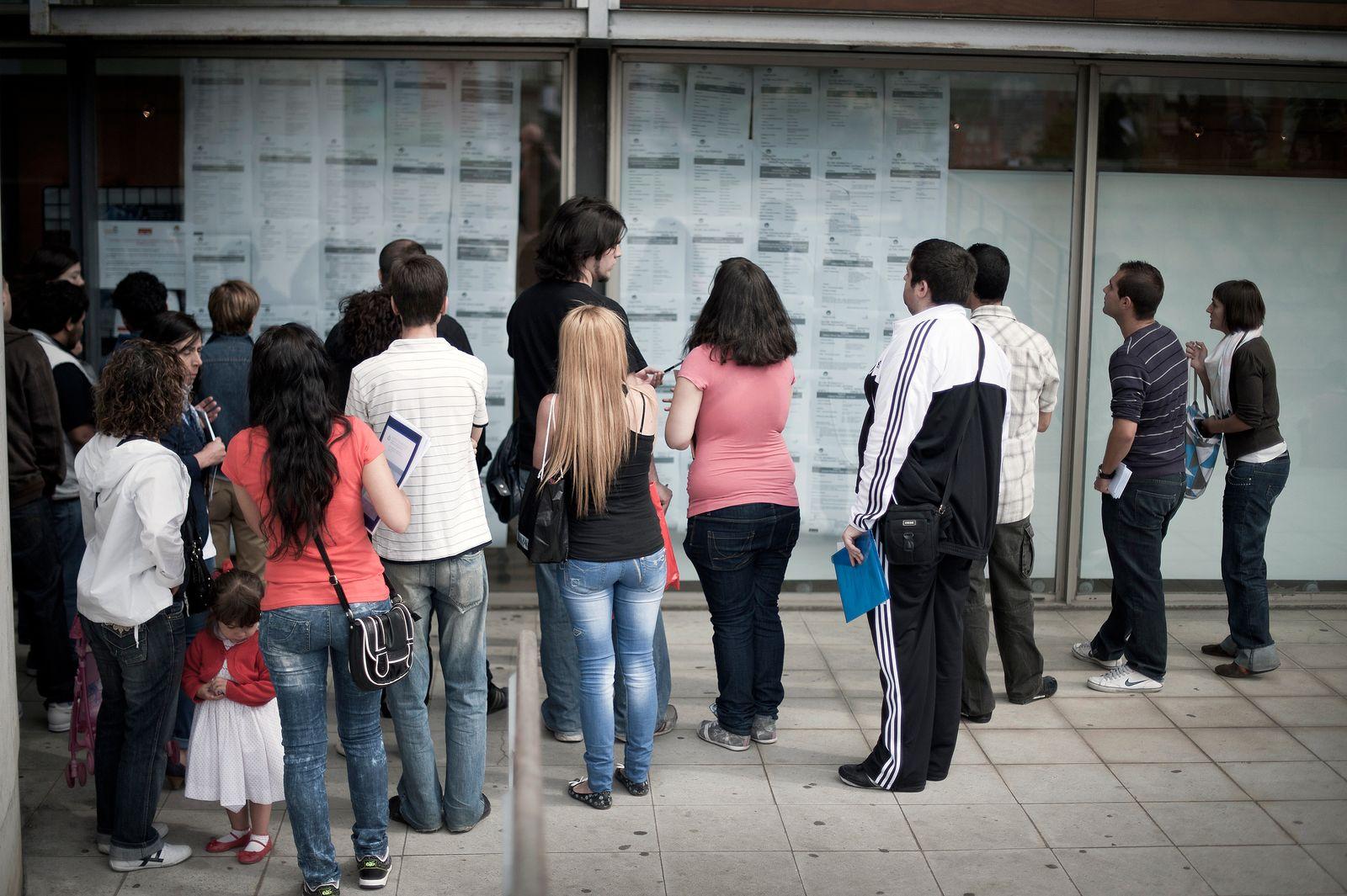 Arbeitslosigkeit / Jugend / Spanien