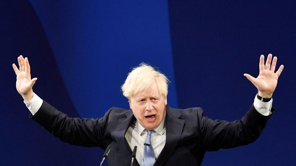 Läuft nicht so recht: Boris Johnson erfährt Kritik seitens der britischen Wirtschaft