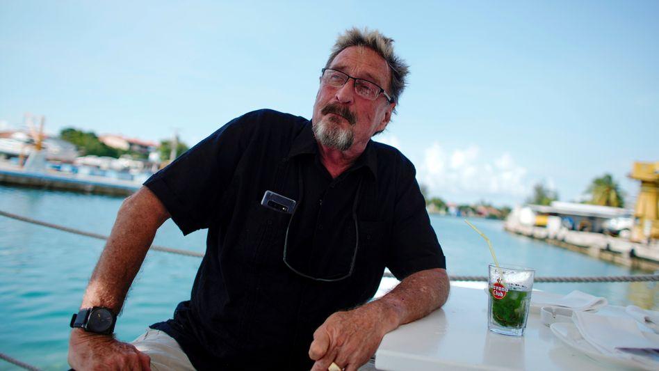 Jahre auf der Flucht: Unternehmer John McAfee, im Bild von Juli 2019 in der kubanischen Hauptstadt Havanna