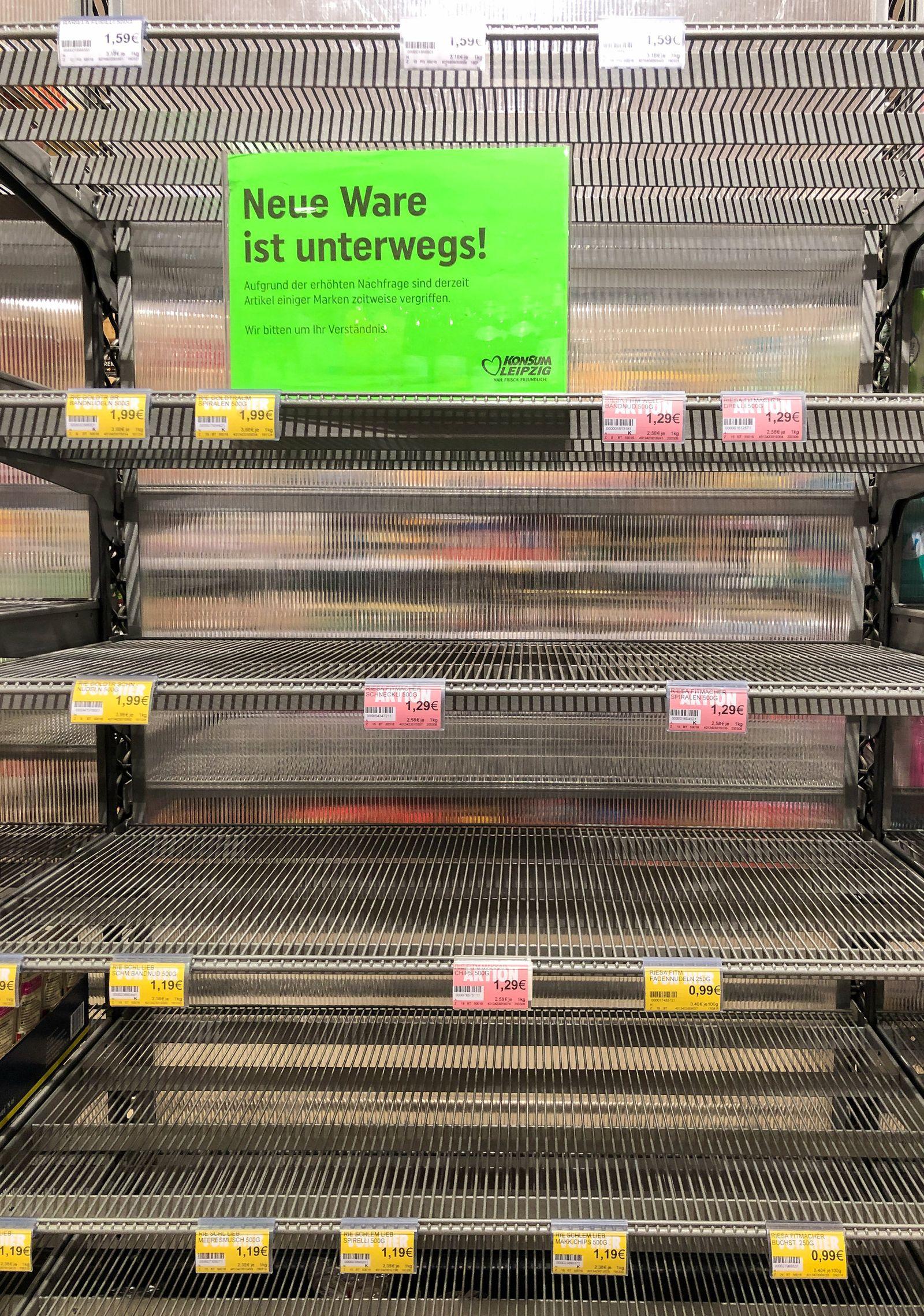 Coronavirus / Supermarkt / Hamsterkäufe