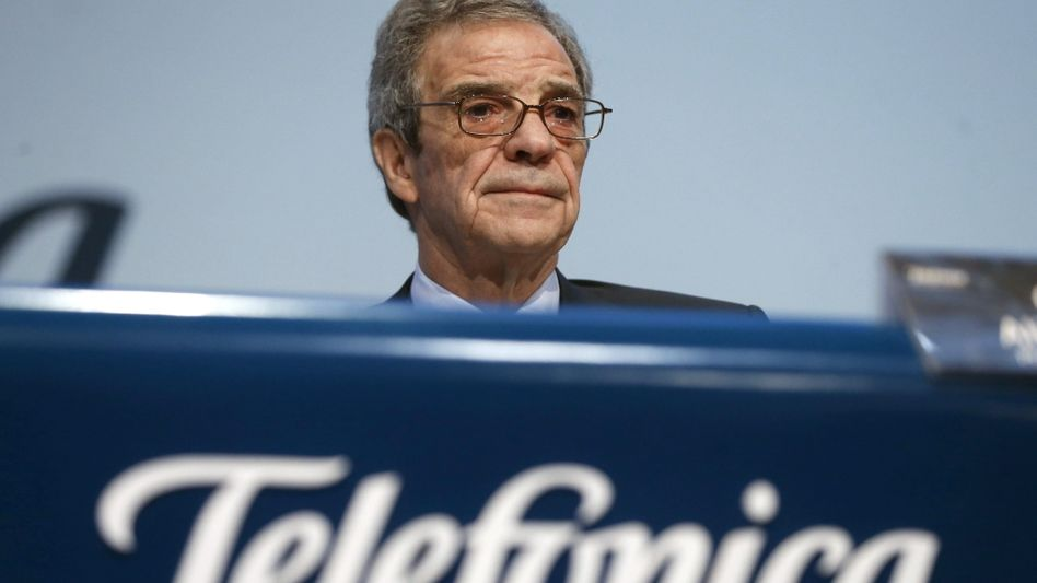Hört mit 70 Jahren auf: Telefonica-Legende Alierta.