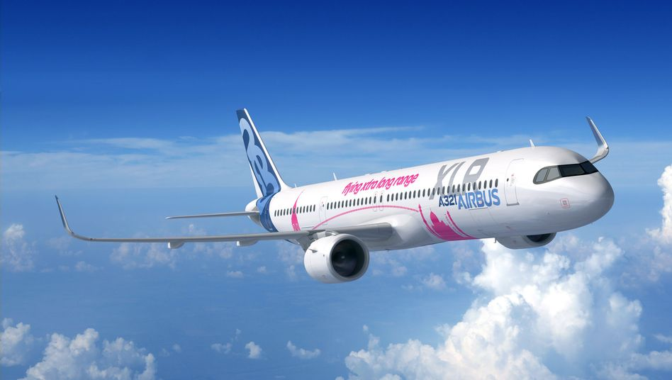 Airbus A321XLR: Die Langstreckenversion soll von Europa bis in die Mitte der USA fliegen