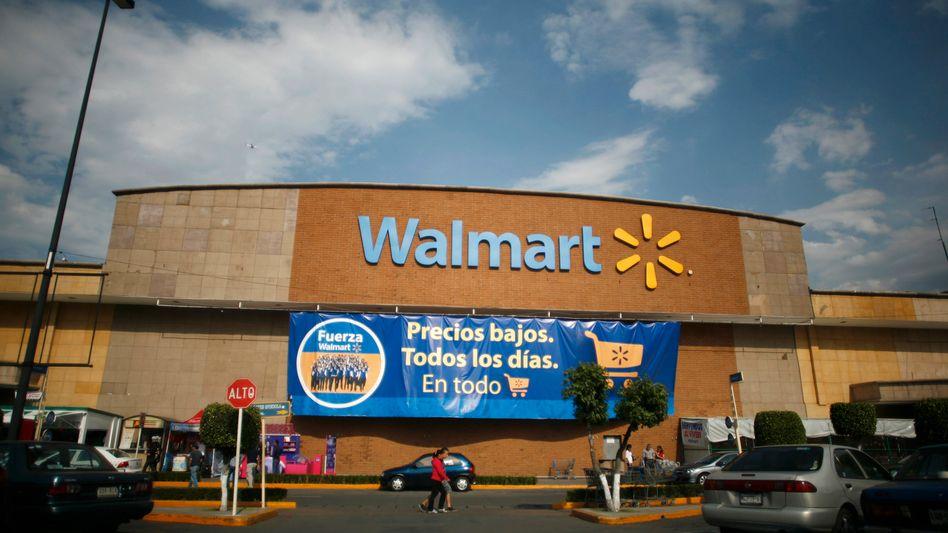 "Wal-Mart-Filiale in Mexiko: ""Niedrige Preise, jeden Tag, für alles"""