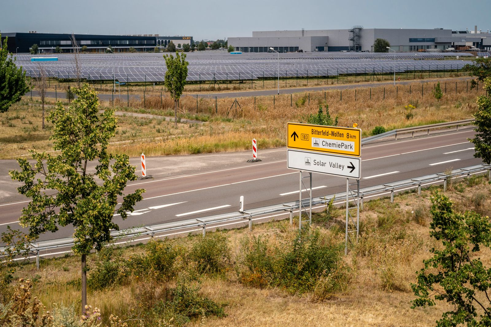 Neubeginn im Solar Valley Bitterfeld-Wolfen?