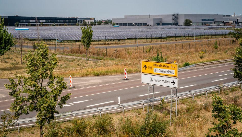 """Industriegebiet in Bitterfeld-Wolfen:""""Ein altes Trauma heilen"""""""