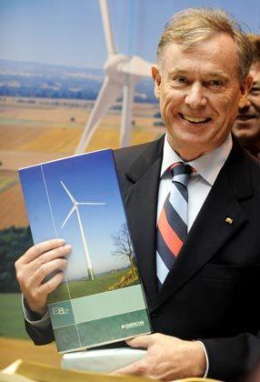 Auserwählter Besuch: Bundespräsidenten Horst Köhler empfängt Aloys Wobbe noch, niedere Politiker hingegen wimmelt er ab