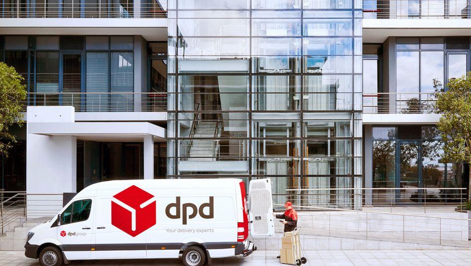 Bringt künftig auch Lebensmittel: Paketdienst DPD