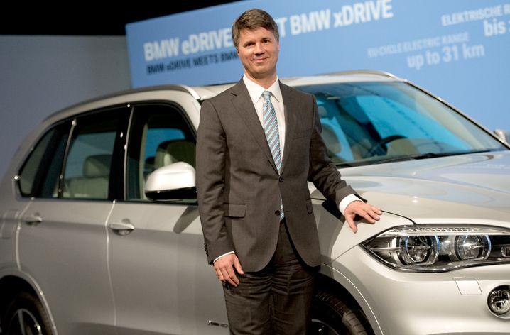 """BMW-Chef Harald Krüger: """"Wir brauchen mehr staatliche Förderung der Elektromobilität"""""""