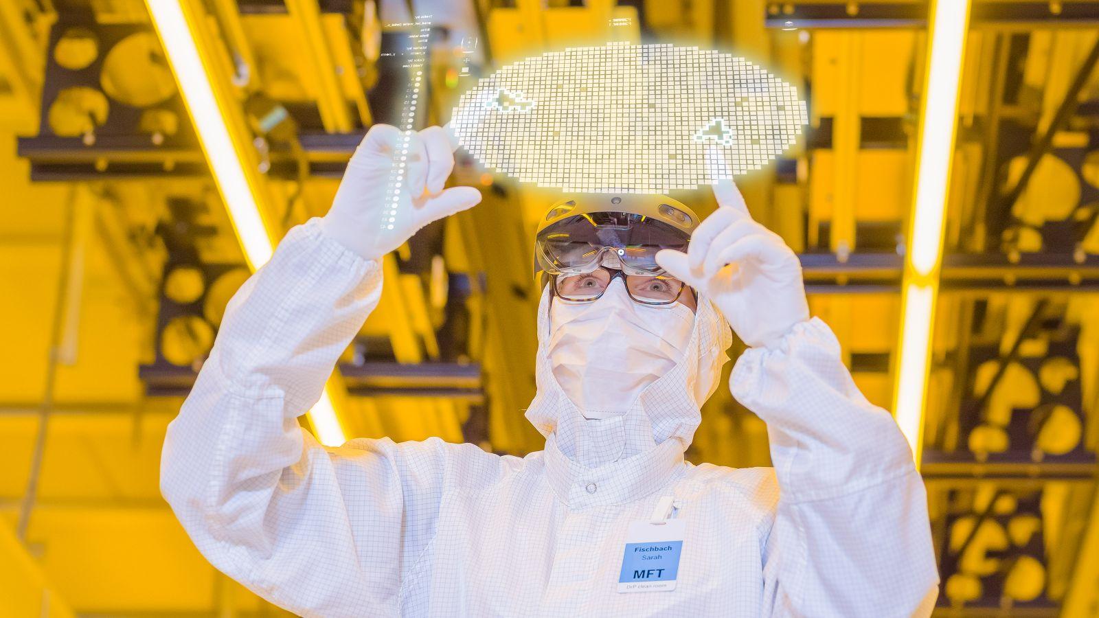 Halbleiterfertigung von Bosch in Dresden / Chipfabrik