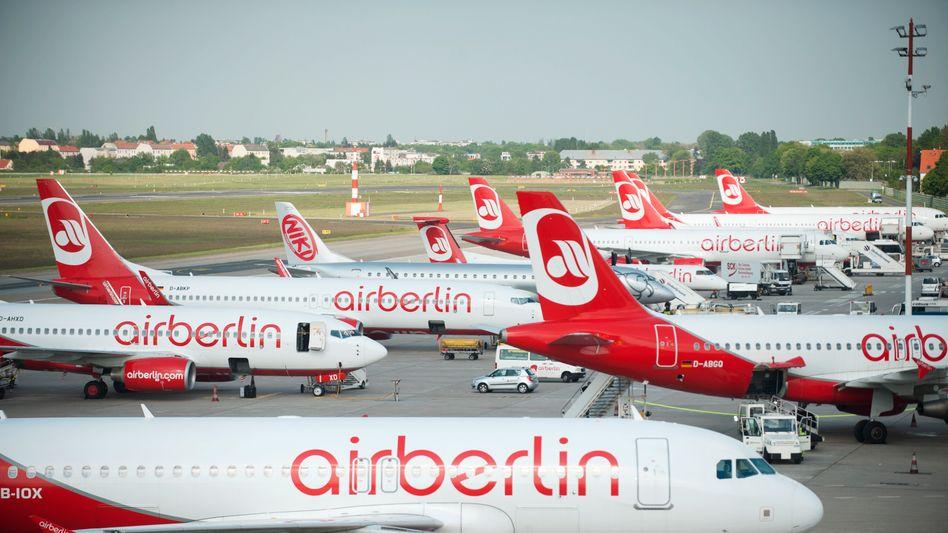 Noch keine Wende: Air Berlin verharrt in den roten Zahlen