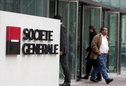 Milliardenschaden: Französische Großbank Société Générale