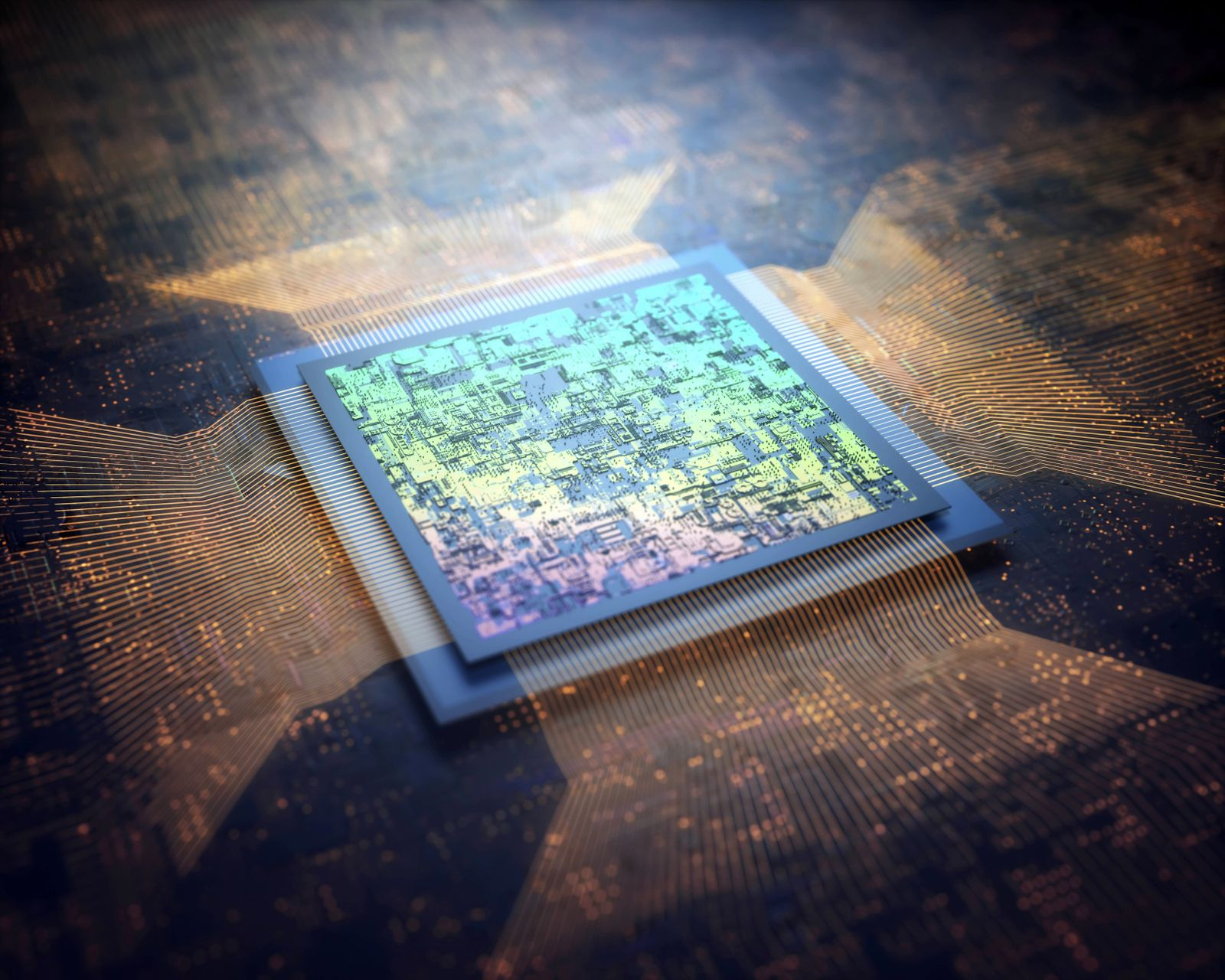 Microchip illustration Microchip illustration PUBLICATIONxINxGERxSUIxHUNxONLY KTSDESIGN SCIENCExP