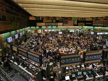 Ölpreisfieber: Energiebörse NYMEX in New York