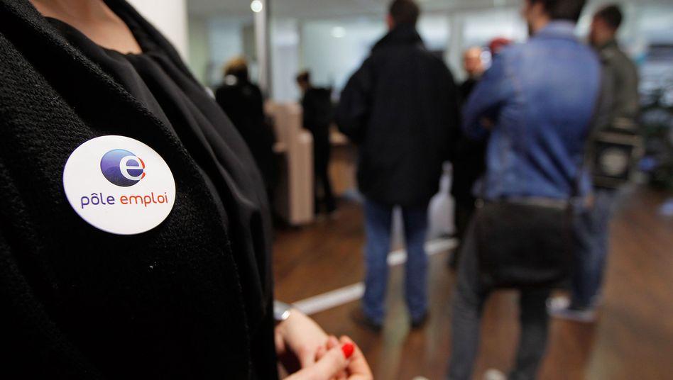 Arbeitslose in Marseille: Die Arbeitslosenquote in Frankreich liegt bei 10,9 Prozent