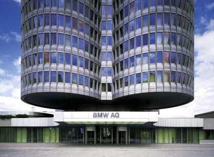 Einkaufs-Profis: BMW-Zentrale in München