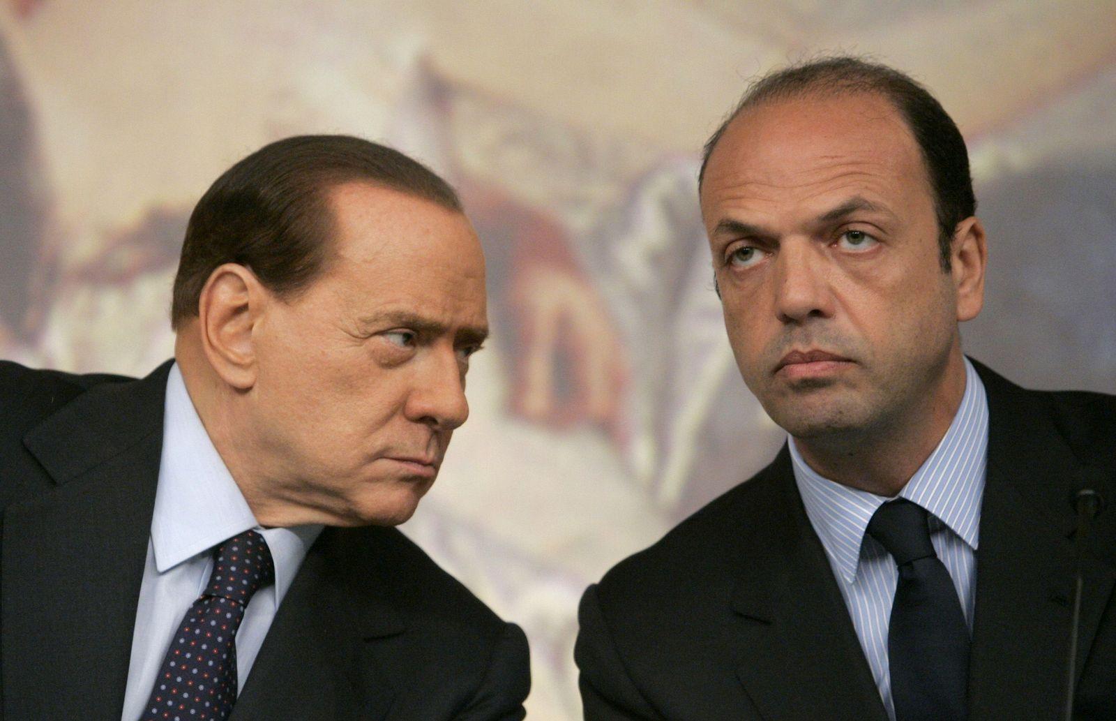 Berlusconi/ Alfano