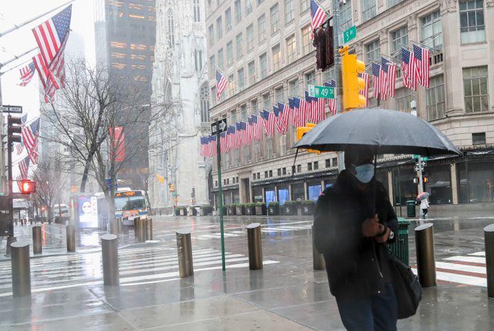New York: Epizentrum der Corona-Pandemie - mehr Infizierte in den USA als in China
