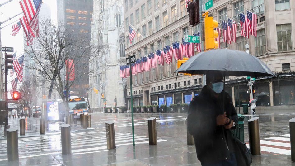 Fifth Avenue in New York: Angst vor der Rezession
