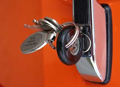 Türöffner aus der Vergangenheit - Autoschlüssel für Youngtimer wie den VW Scirocco wirken heute irgendwie vorsintflutlich