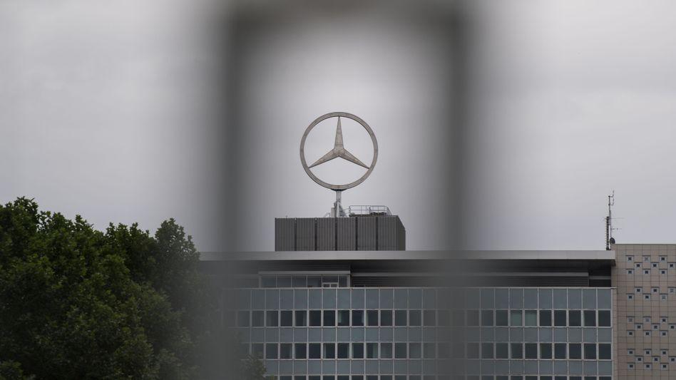 Daimler-Gebäude in Untertürkheim