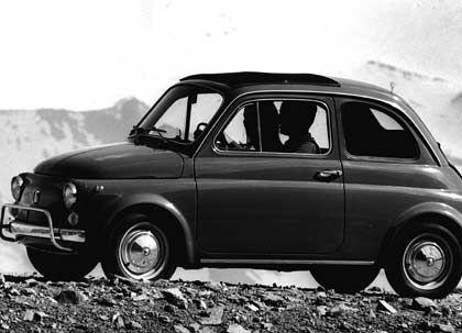 Italien-Nostalgie: Der Fiat 500 war Inbegriff des Wirtschaftswunders