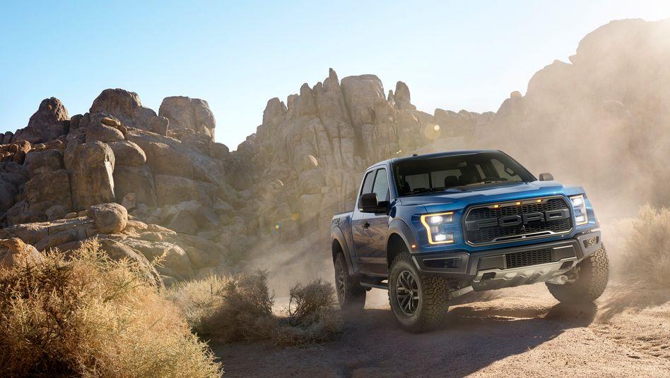 Umdenken: Auch PS-Monster wie den F-150 will Ford künftig als Hybridfahrzeug anbieten
