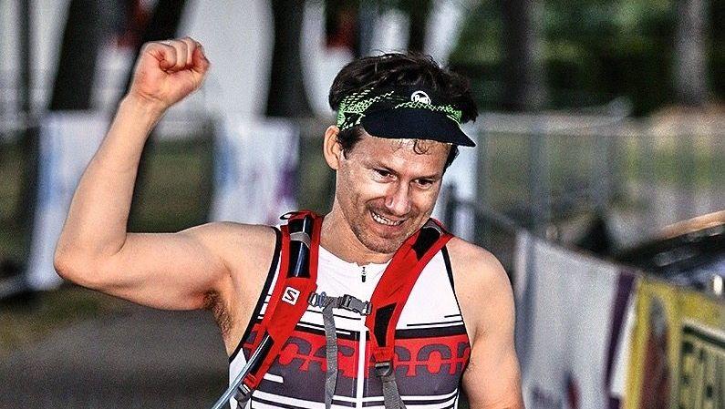 Langstreckler: Jan Henrik Muhle (44) beim Zieleinlauf