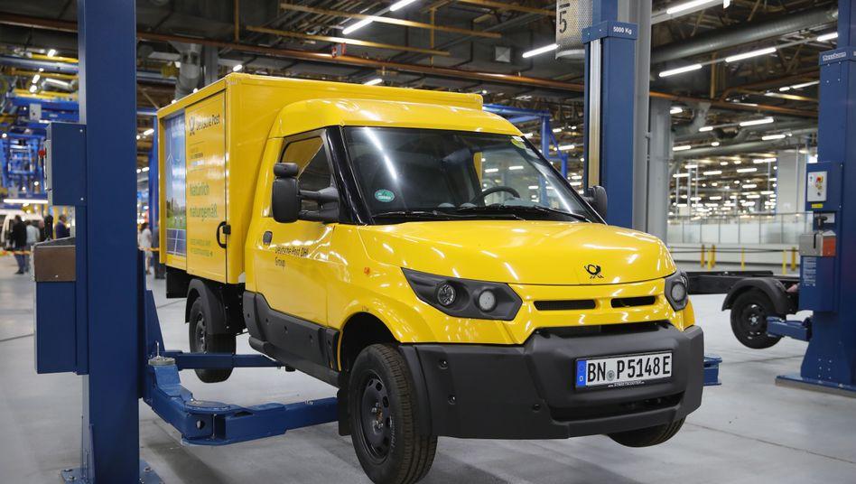StreetScooters-Produktion in Düren