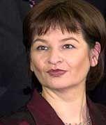 Neue Parteichefin: Vizekanzlerin Susanne Riess-Passer