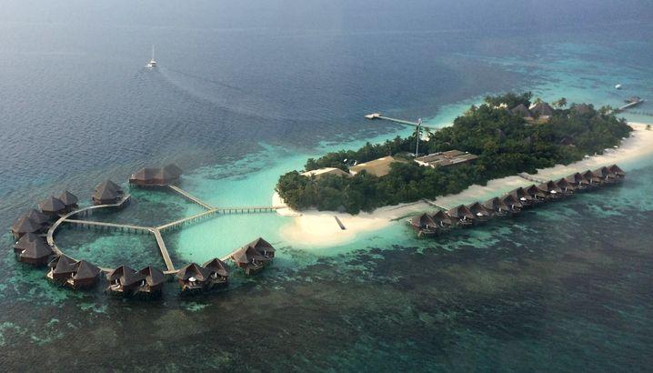 Fürs Marathontraining ebenso ungeeignet wie für Steigerungsläufe am Berg: Mirihi ist mit ihren 350 mal 50 Metern eine der kleinsten Inseln auf den Malediven.