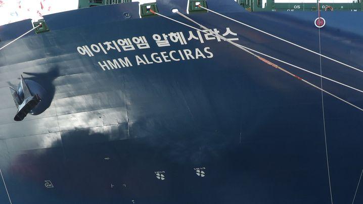 Containerschiffe: Die 20.000-Kästen-Kasten