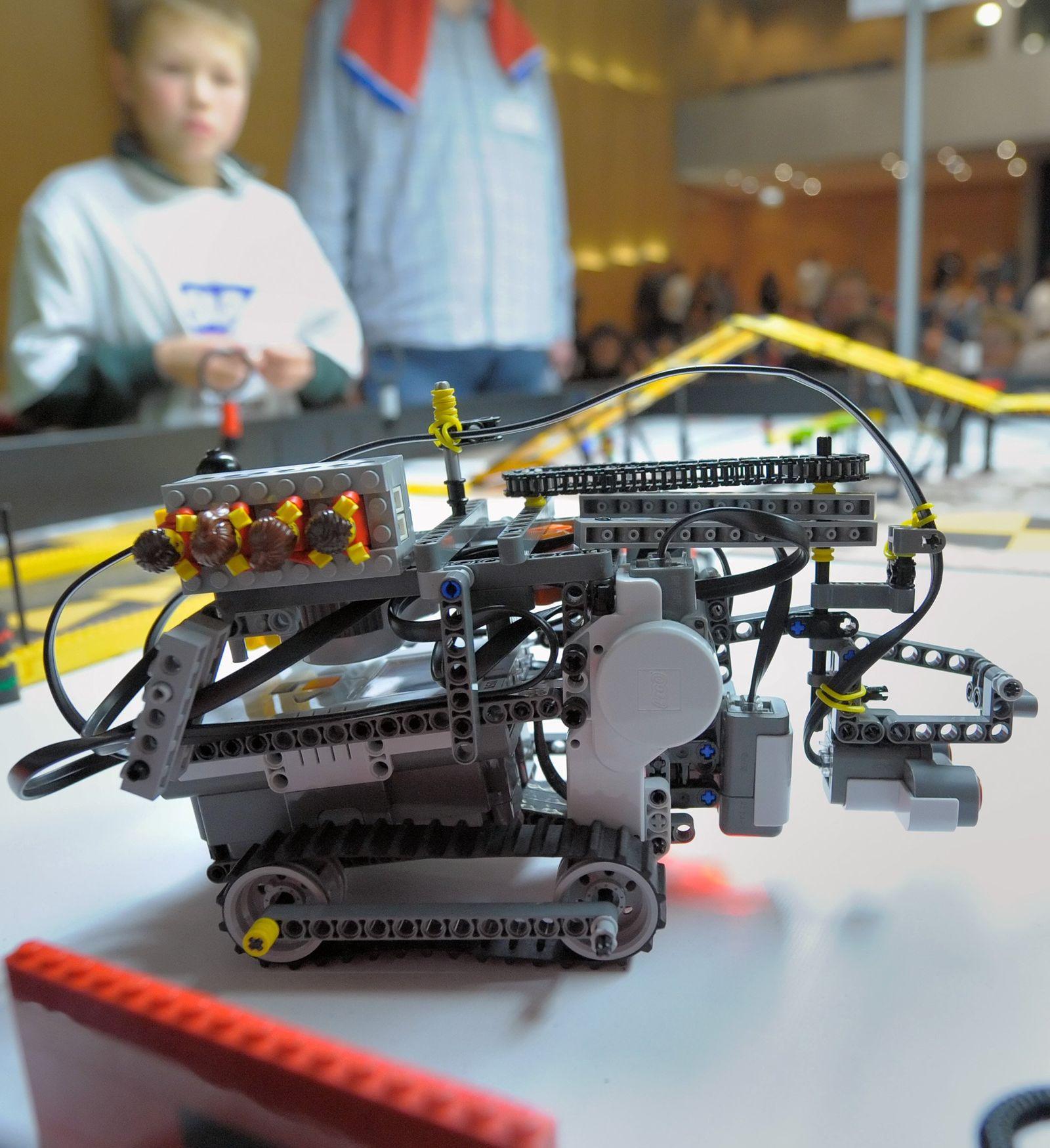 Wissenschaftsbilder/Roboterwettbewerb in St. Leon-Rot