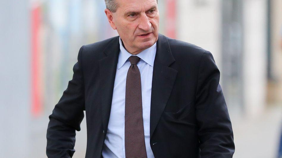 Bald EU-Haushälter: Günther Oettinger (CDU)